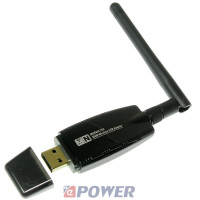 Karta sieciowa RAD. USB 300Mbps NEPOWER (WIN XP,VISTA,7,8,10)
